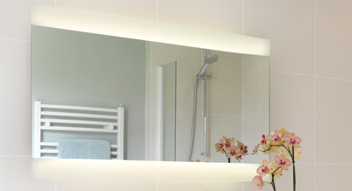 Illuminated Bathroom Mirrors